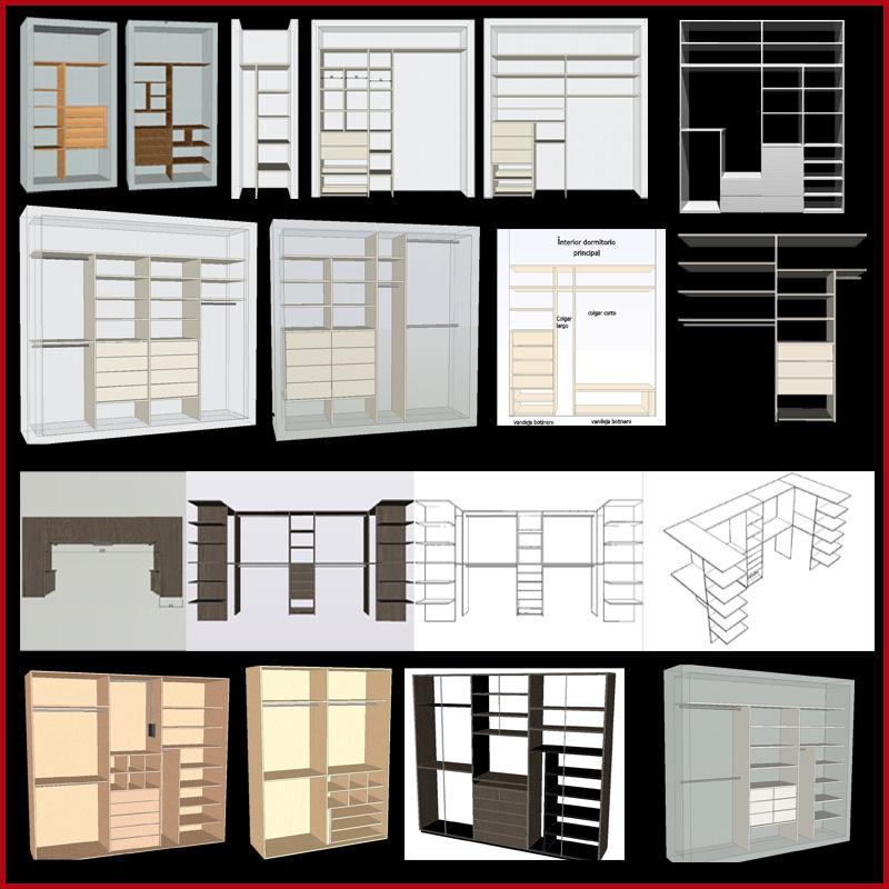 Modelos De Interiores De Placard La Carpinteria De Daniel