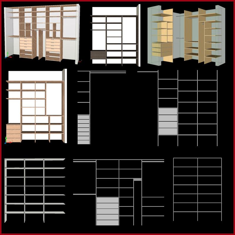 Modelos de interiores de placard la carpinteria de daniel for Interiores de placard