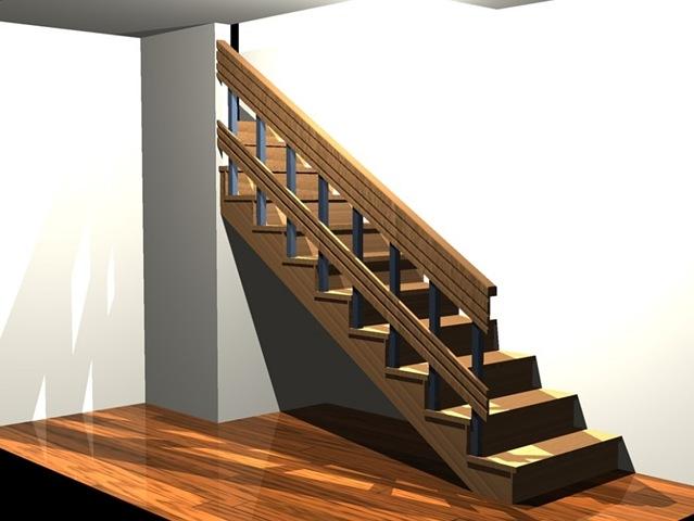 Baño Bajo Escalera Planta:Muebles bajo escalera