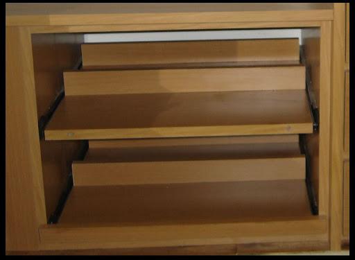 Botineros para interiores de placard y vestidores la for Interiores de placard