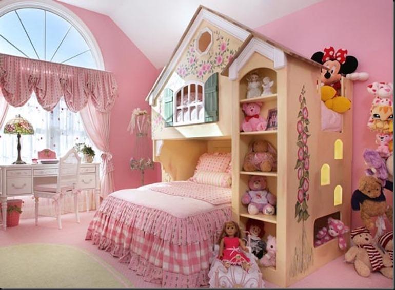 Dormitorio para niñas