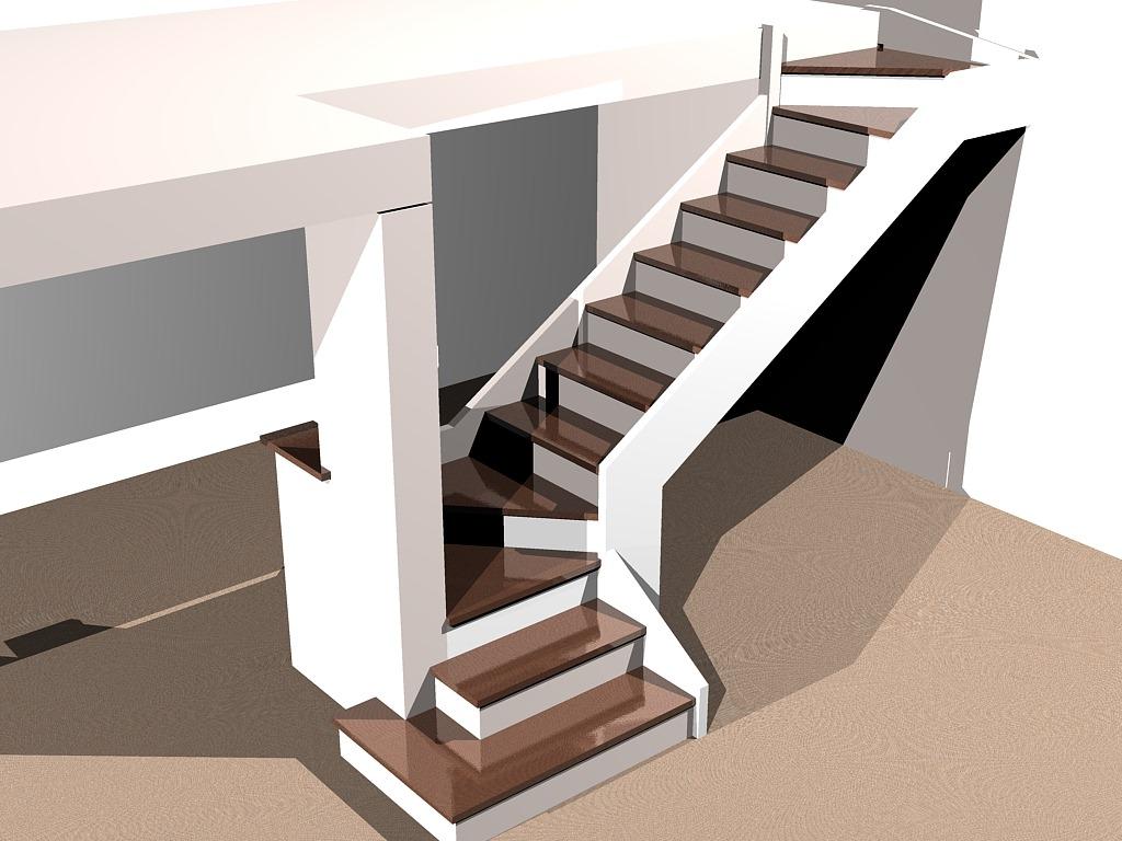 Proyecto Escalera En Un Ph La Carpinteria De Daniel