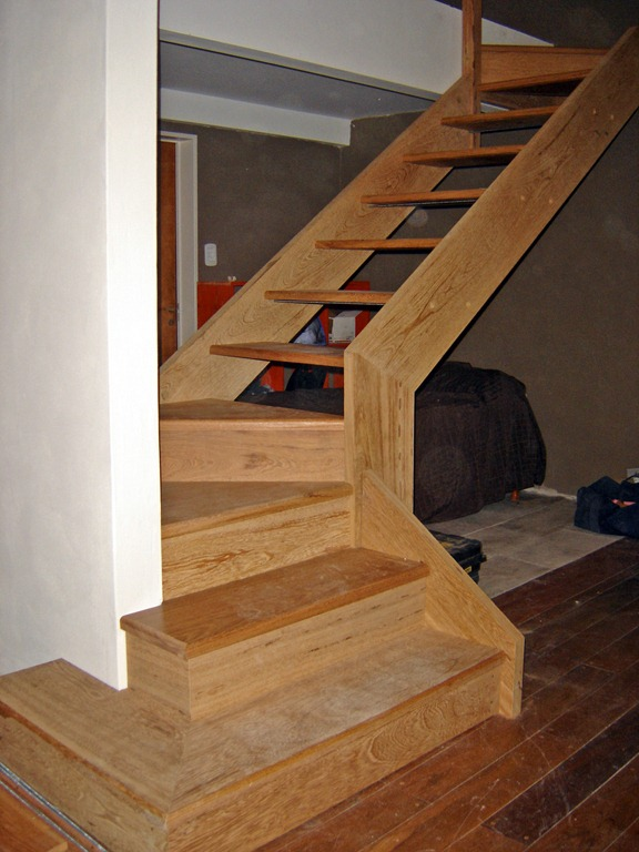 La carpinteria de daniel p gina 3 for Como hacer una escalera para entrepiso